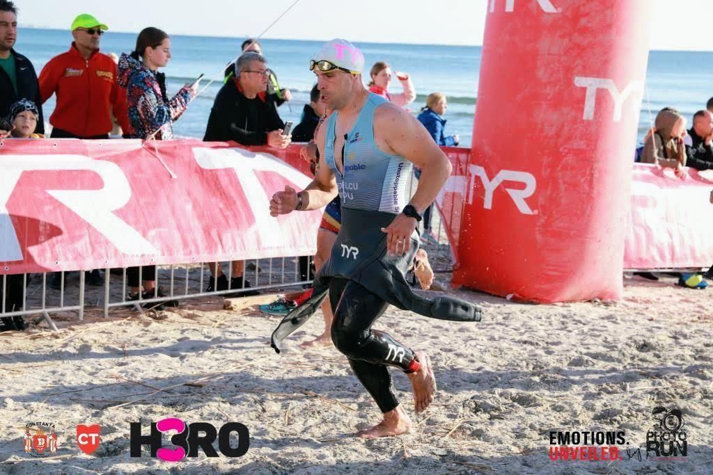 H3RO by TriChallenge 2019 - Emilian Nedelcu - proba de înot