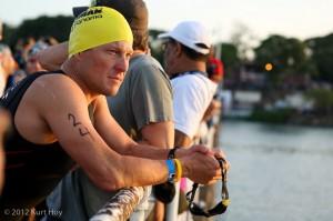 Lance Armstrong, Ironman 70.3 Panama, inainte de start