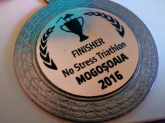 Medalie No Stress Triathlon Mogosoaia 2016
