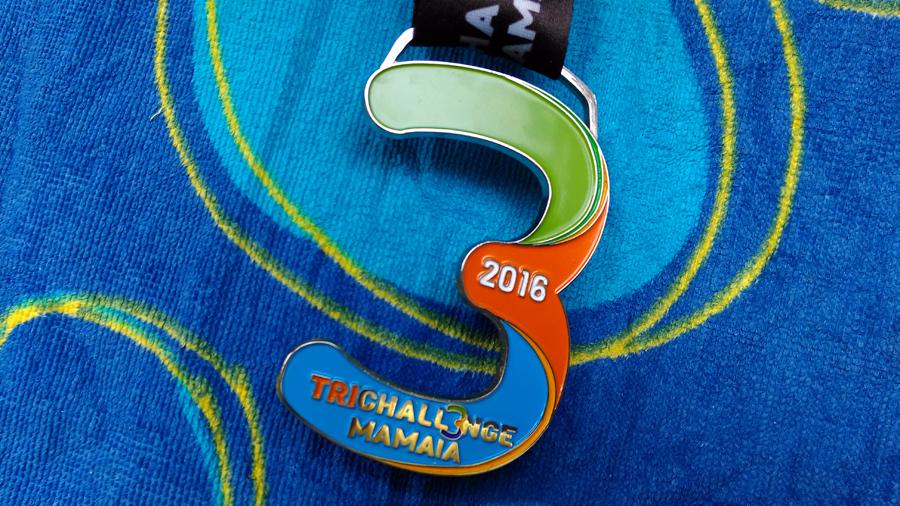 TriChallenge Mamaia 2016 - medalia