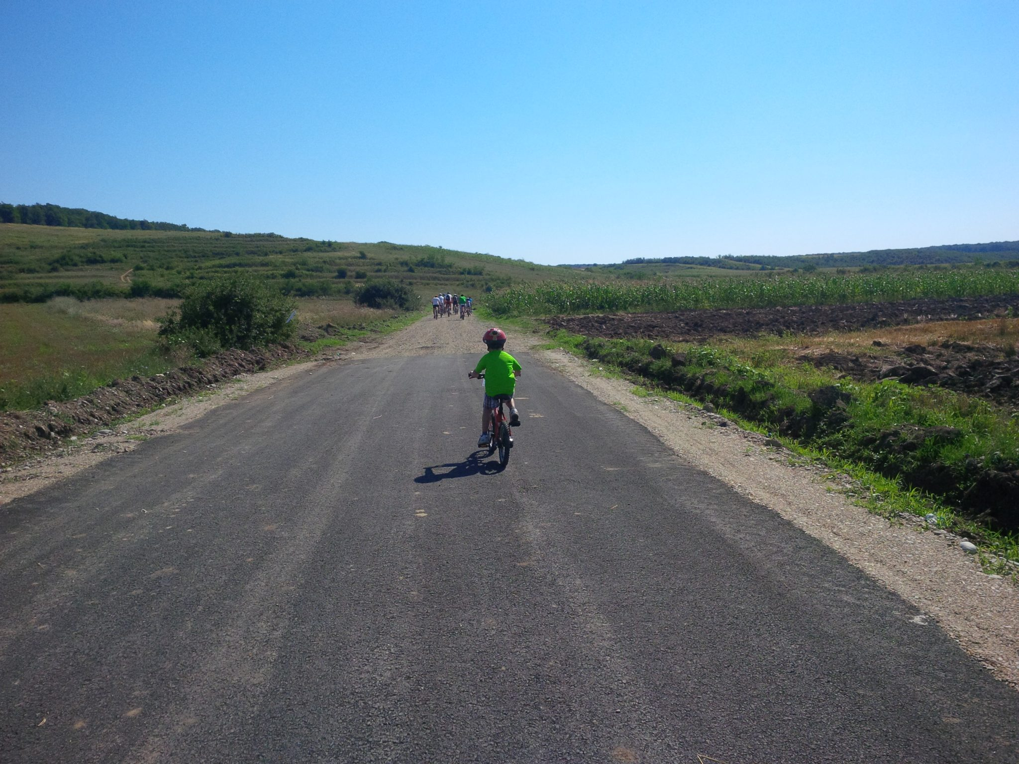 Zimbraria Neagra XC 2013 - primii kilometri