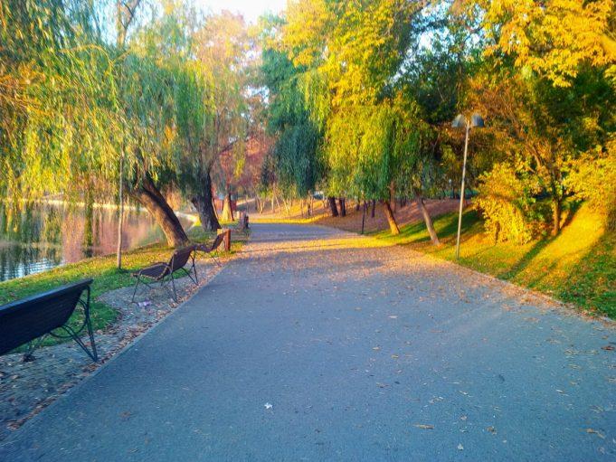 Antrenament dimineata - parcul IOR