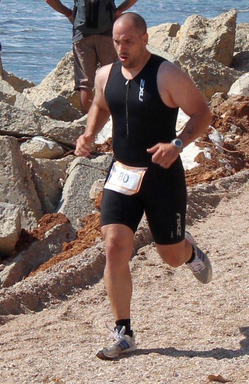 Emilian Nedelcu, primul maraton