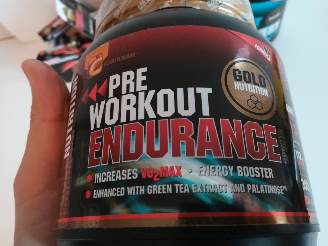 GoldNutrition Romania - pre workout