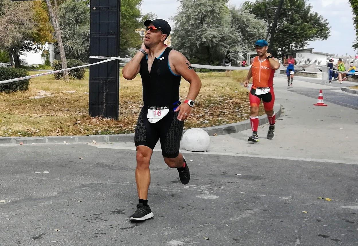 Emilian Nedelcu - H3RO TriChallenge 2018, pe traseul de alergare