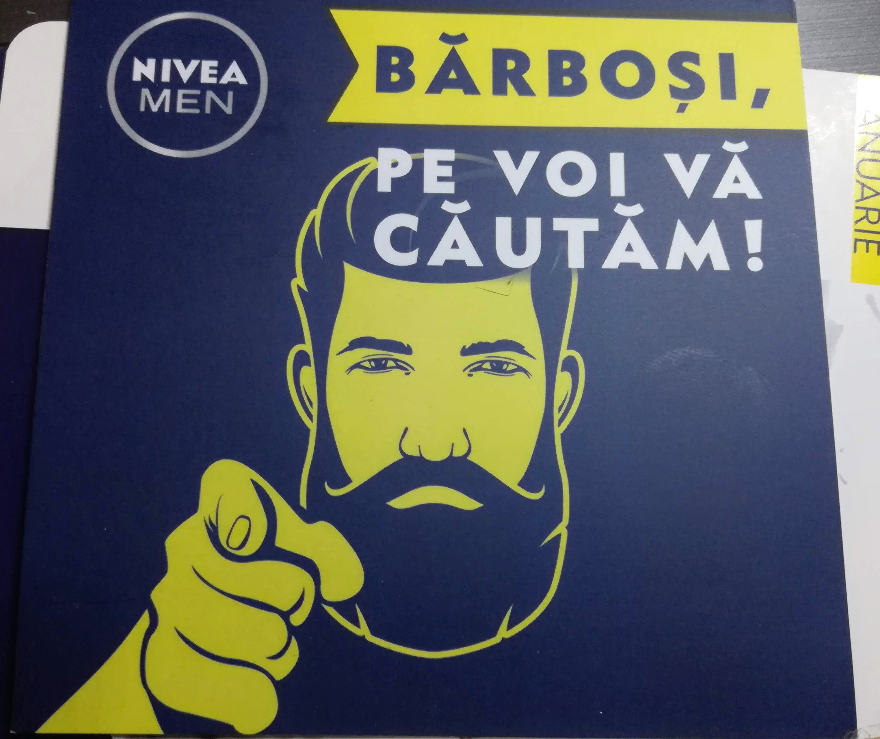 Nivea Men - cauta barbosi
