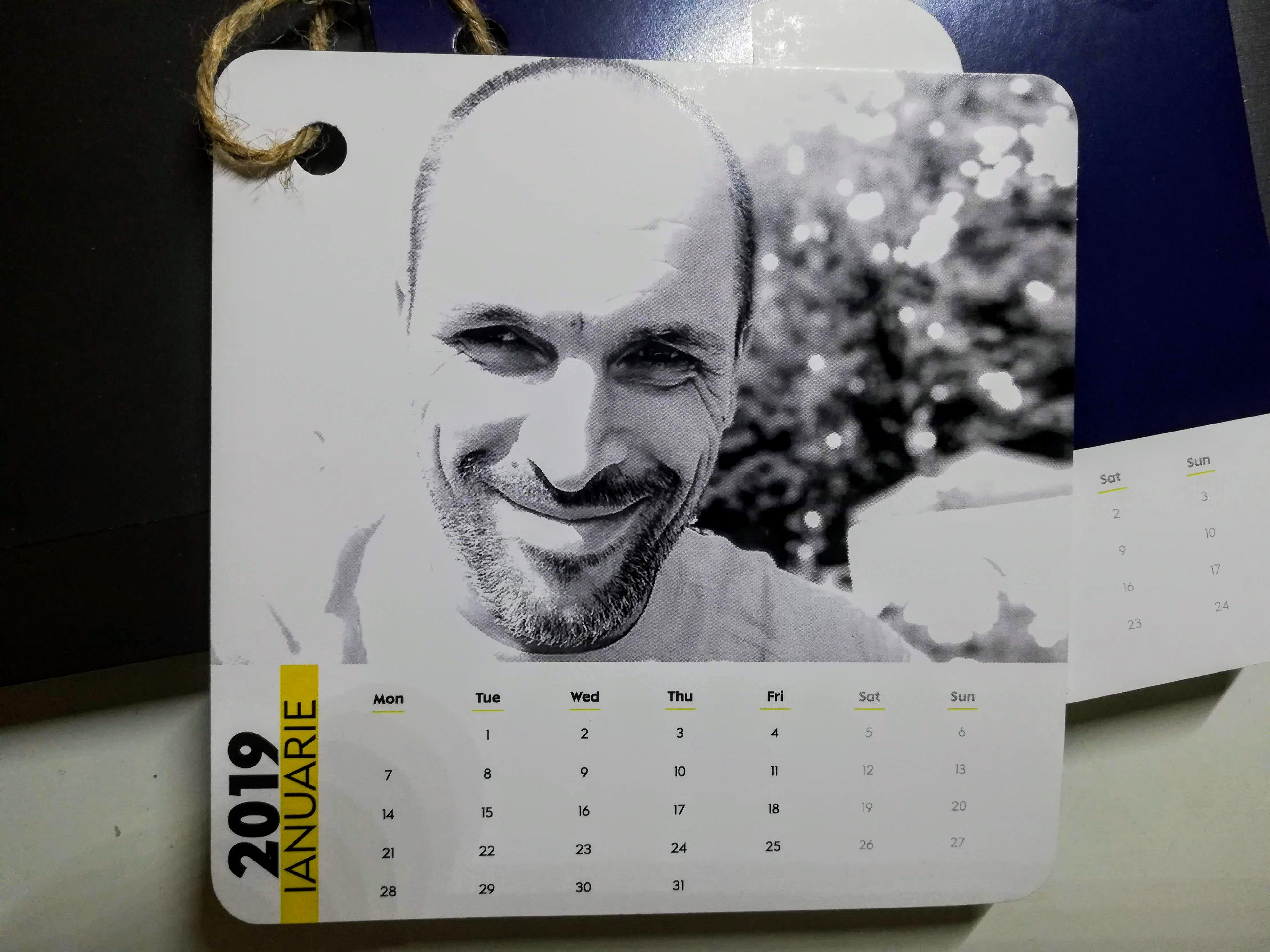 Nivea calendar bărboși