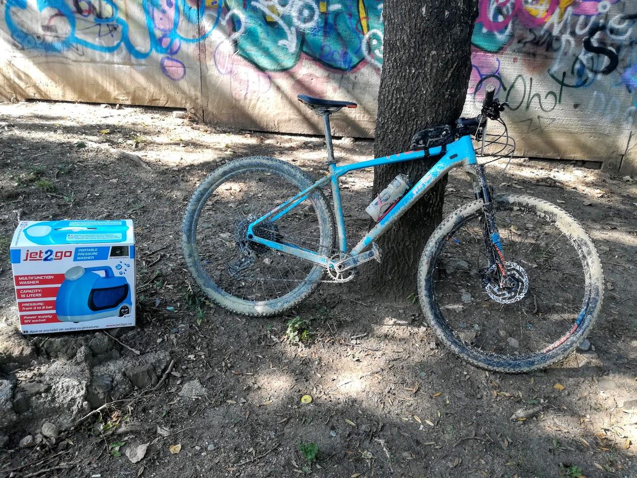Jet2Go spalare bicicleta MTB