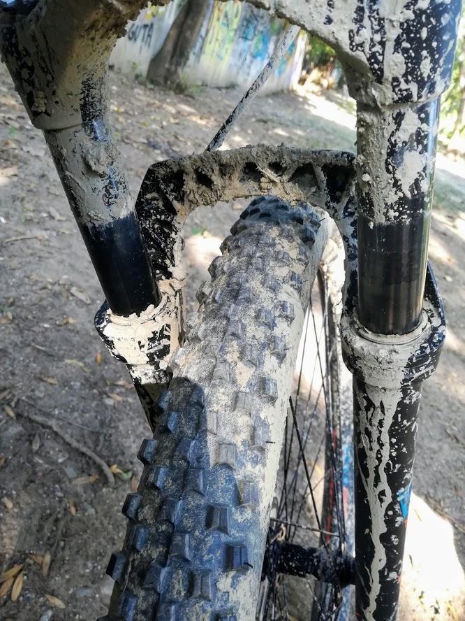 Roata bicicleta murdara