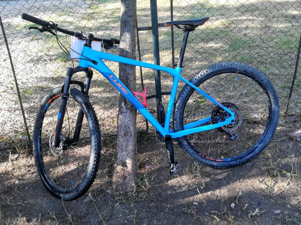 Bicicleta curata - spalata cu Jet2Go