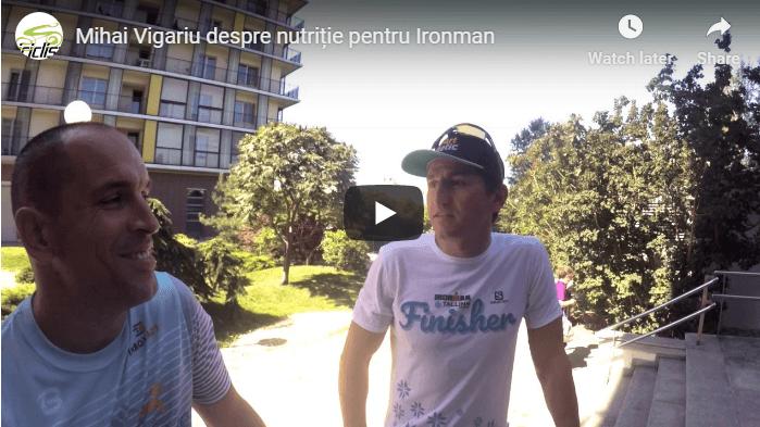 Interviu MIhai Vigariu - nutritie si sport