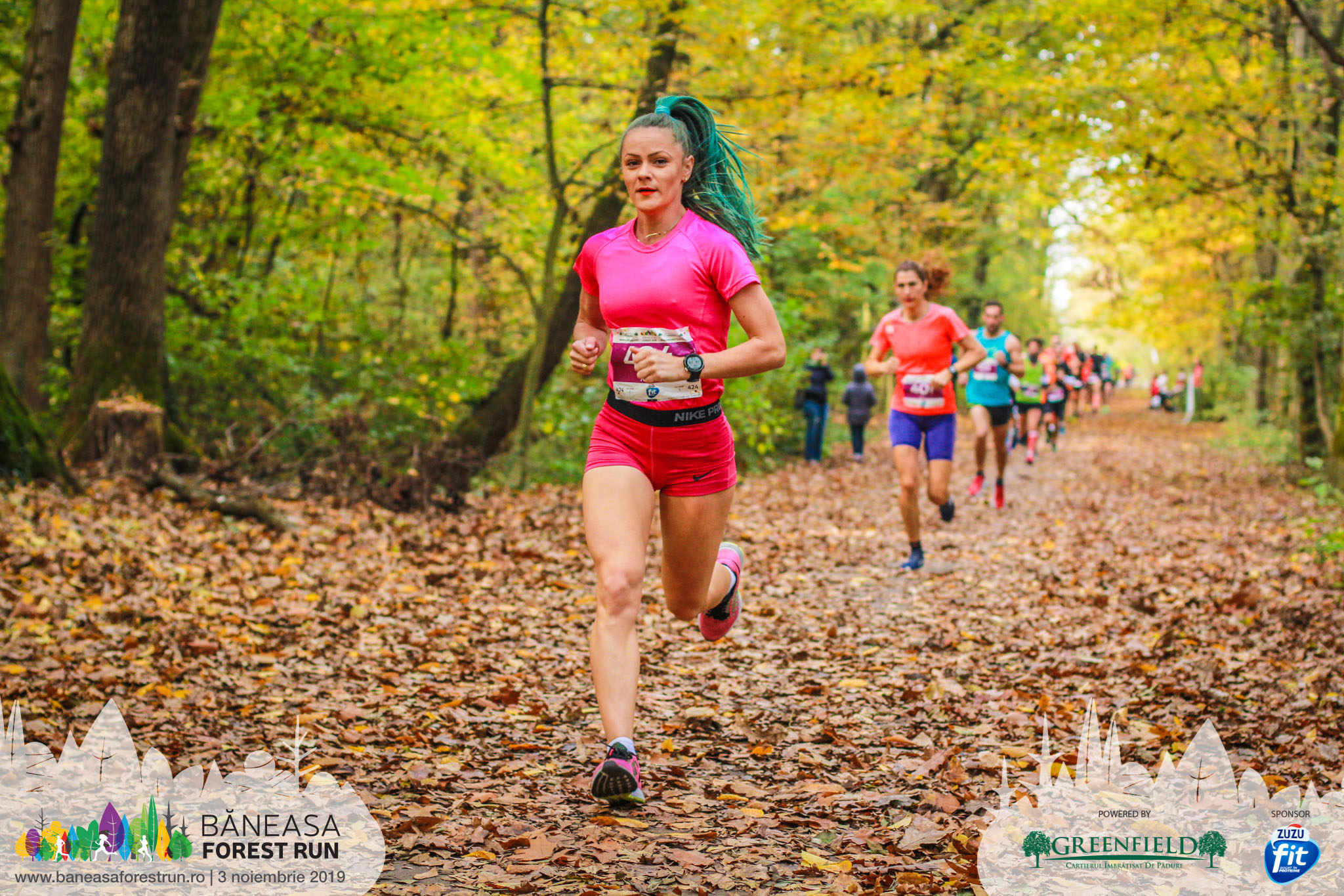 Adela Bălțoi - Baneasa Forest Run 2019