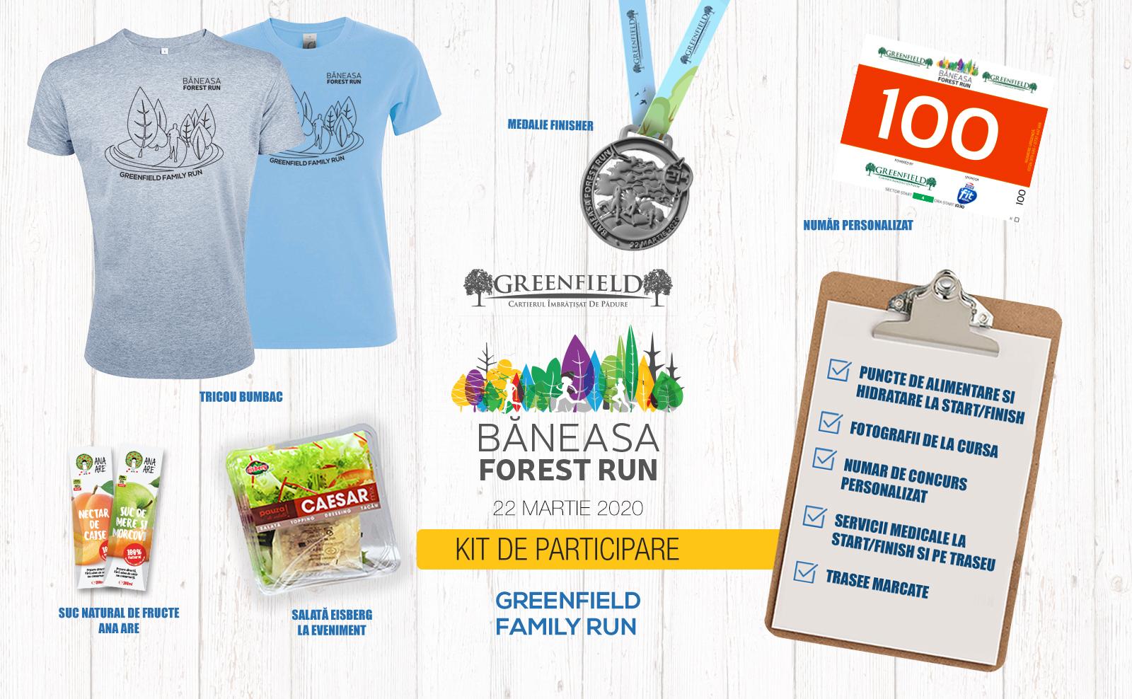 Baneasa Forest Run - kit participare family run