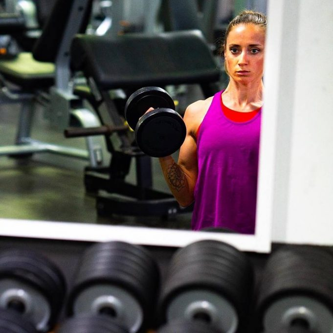 Laura Philipp - exercitii forta triatlon