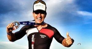 Mihai Vigariu - medalie Ironman Africa de Sud 2019
