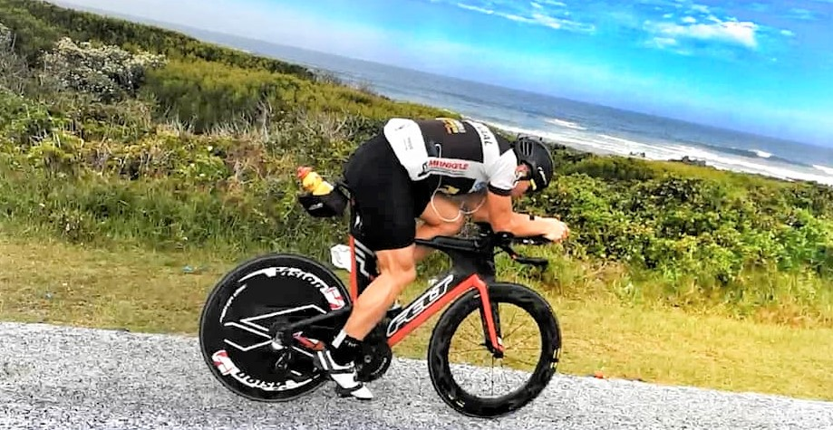 Mihai Vigariu - antrenament ciclism