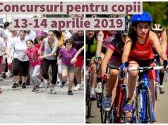 Concurs alergare copii - concurs ciclism copii - aprilie 2019