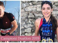 Bogdan Damian - Antoanela Manac - campioni nationali duatlon 2019