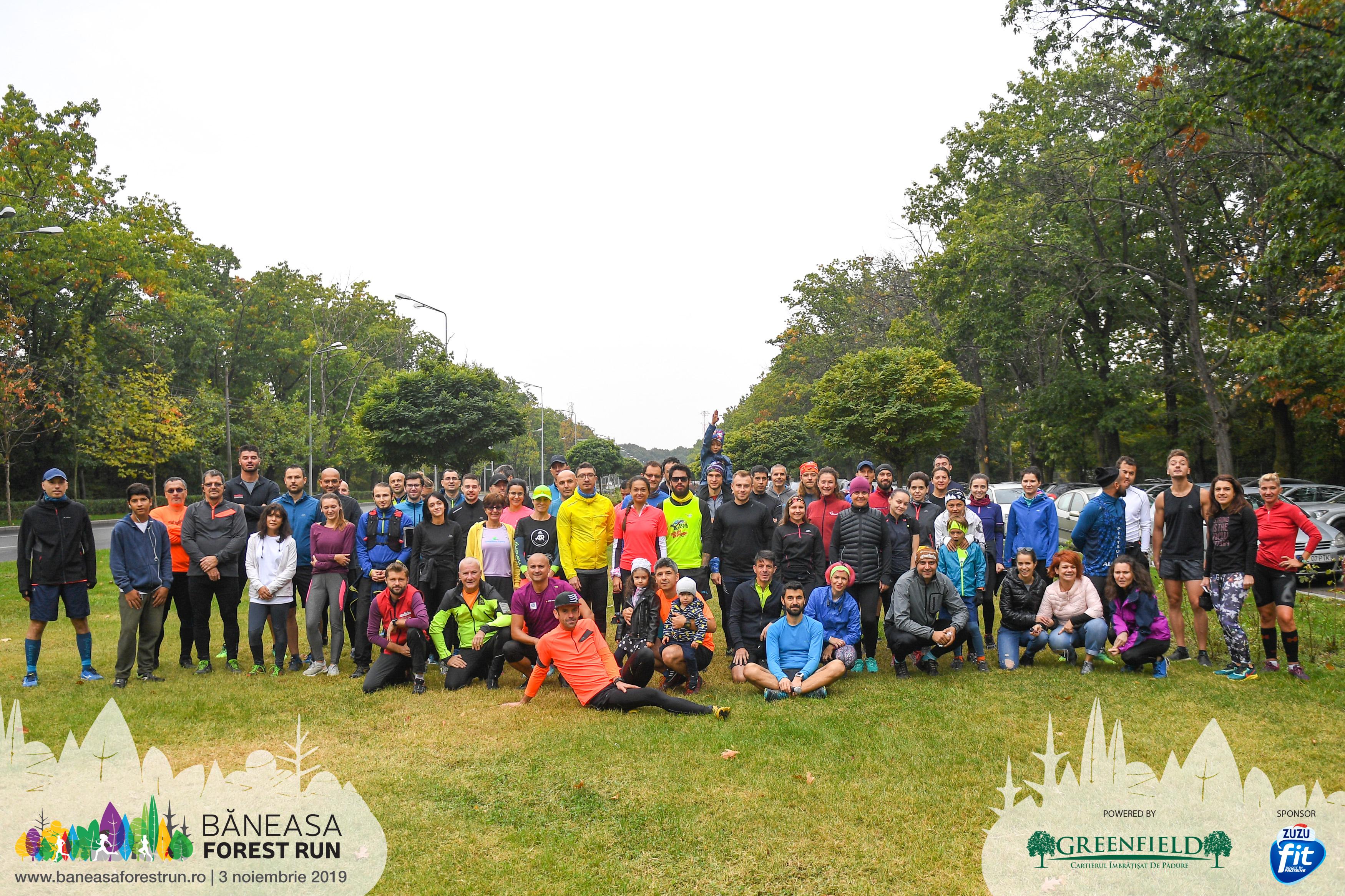 Băneasa Forest Run - antrenamente