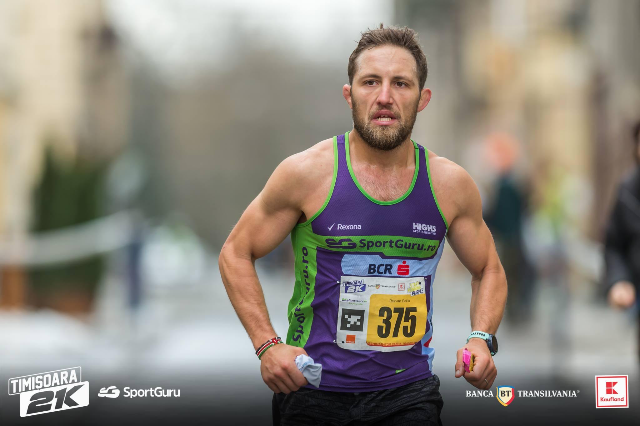 Razvan Doica - Timisoara 21K - Sportguru
