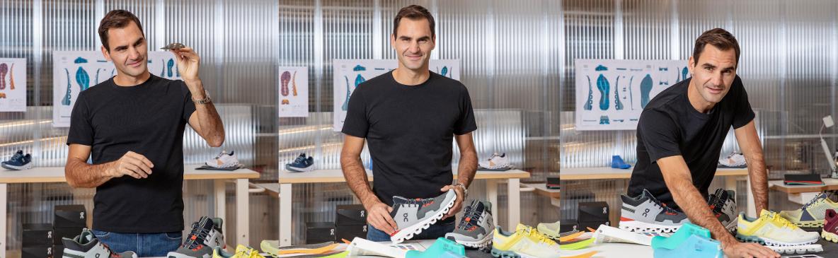 Roger Federer - pantofi alergare On