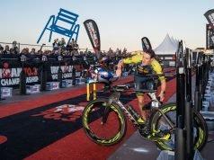 Sebastian Kienle - zona tranzitie - Ironman 70.3 World Championship