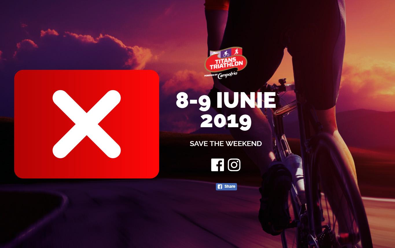 Titans Triathlon 2019 - anulat