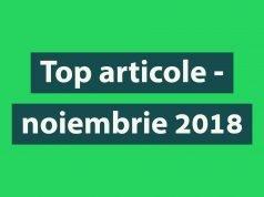 Top articole Biciclistul - luna noiembrie 2018