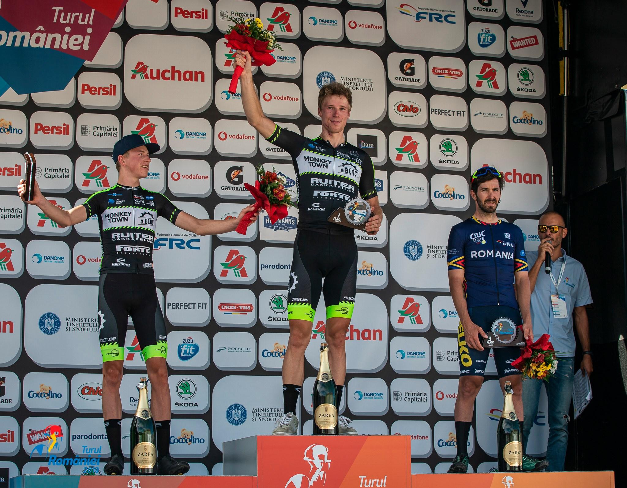 Turul Romaniei 2019 - podium etapa 1