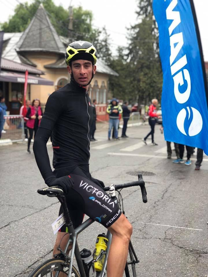 Vlad Dobre - locul 1 The Wall Pucioasa - cursa lungă