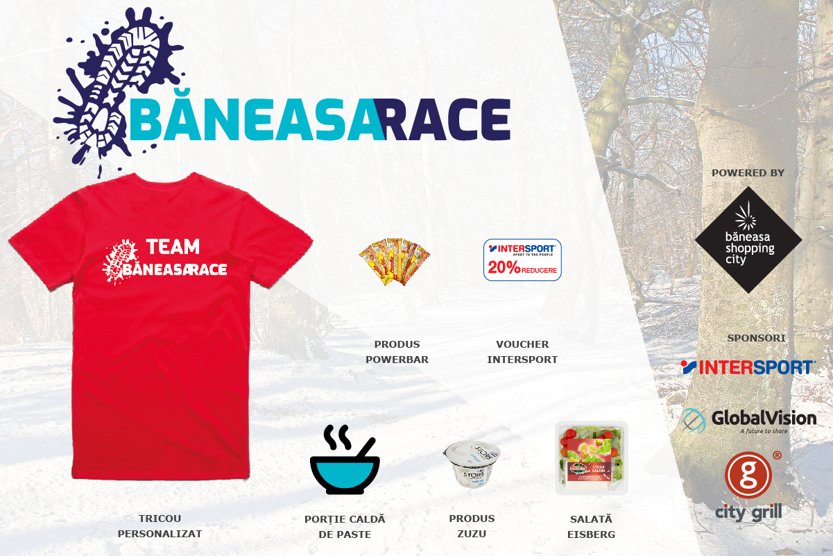 Baneasa Race - kit participare voluntar
