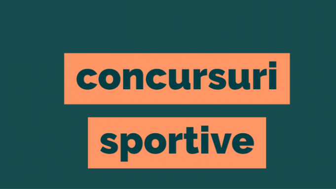 Lista concursuri sportive
