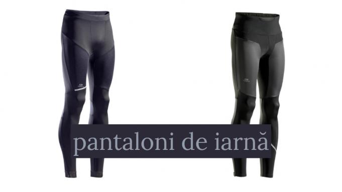 pantaloni de alergare iarna
