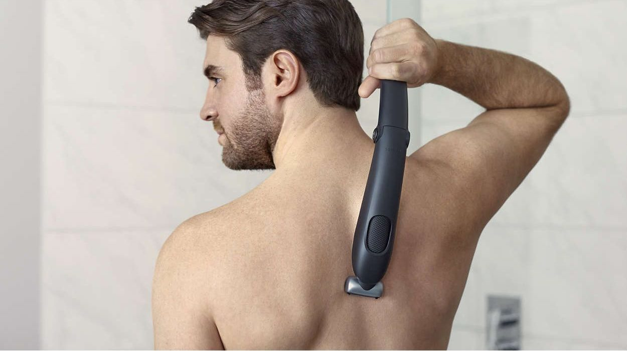 Aparat de tuns corporal Philips - accesoriu spate