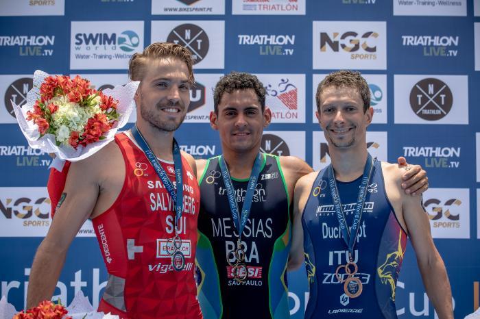 Felix Duchampt - bronz cupa mondiala Lima 2019